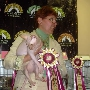 Winners of show - sphynx males, sphynx females, sphynx kittens Baby Rah